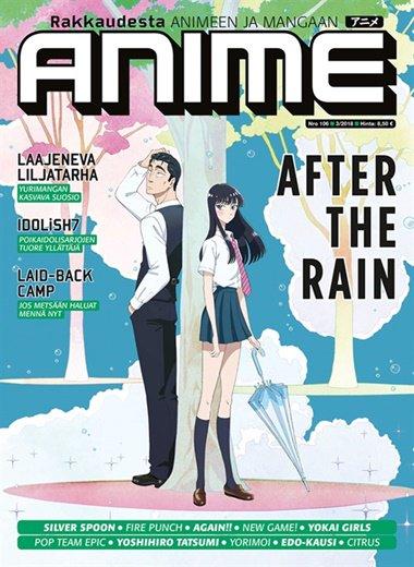 anime lehti tarjous ja tilaajalahja
