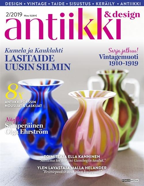 antiikki design lehti tarjous ja tilaajalahja