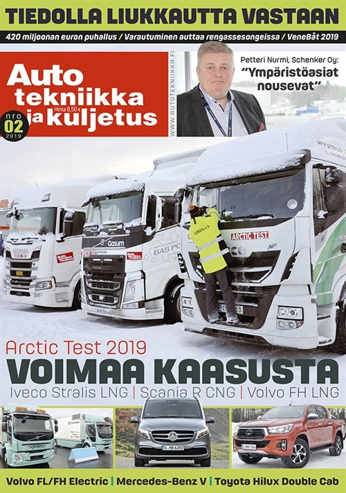 auto, tekniikka ja kuljetus -lehti tarjous ja tilaajalahja