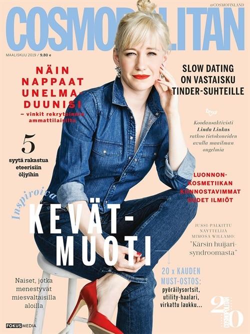 cosmopolitan lehti tarjous ja tilaajalahja