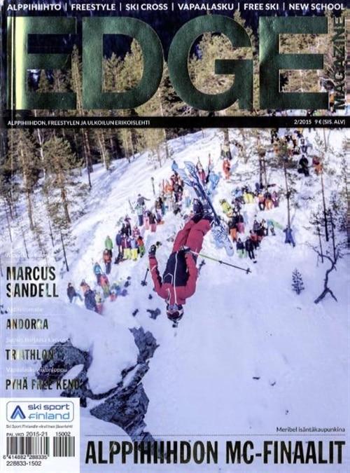 edge magazine lehti tarjous ja tilaajalahja