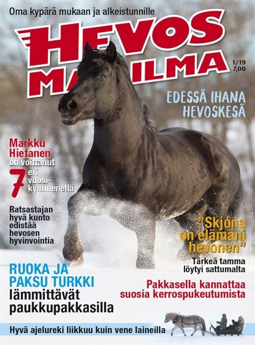 hevosmaailma lehti tarjous ja tilaajalahja