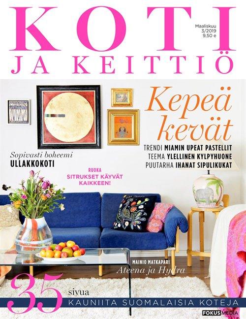 koti ja keittio lehti tarjous ja tilaajalahja