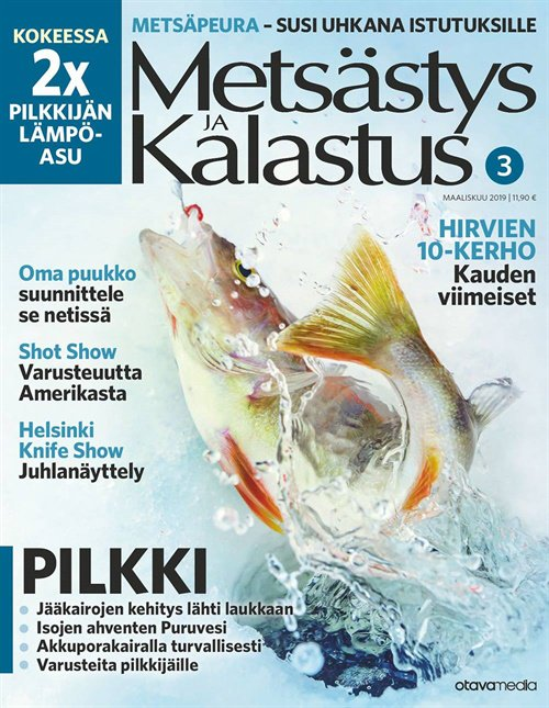 metsästys ja kalastus -lehti tarjous ja tilaajalahja