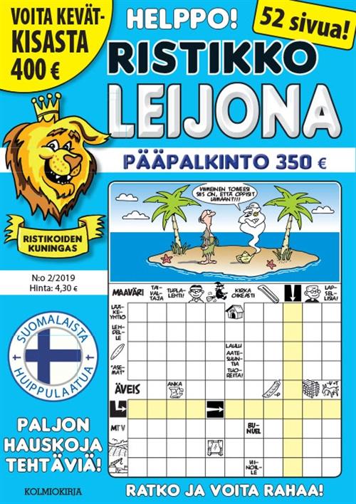ristikko-leijona -lehti tarjous ja tilaajalahja