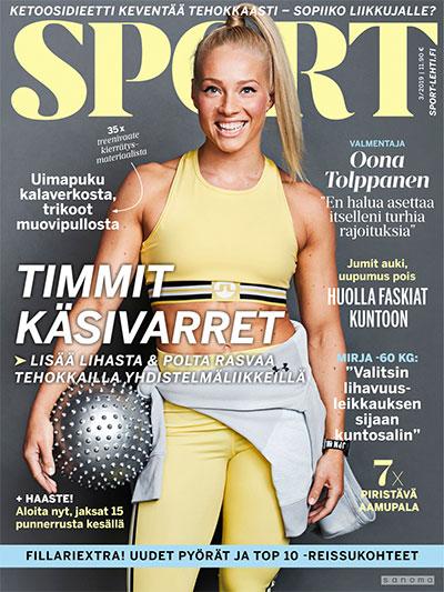 sport -lehti tarjous ja tilaajalahja