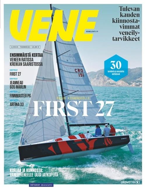 vene -lehti tarjous ja tilaajalahja