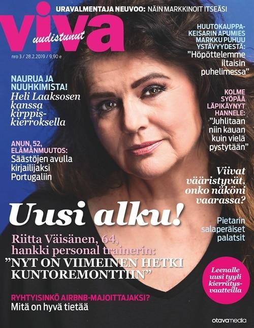 viva -lehti tarjous ja tilaajalahja